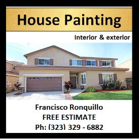 House Painting Interior & Exterior LA California