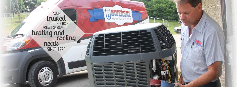 Universal Heating & Cooling image 0