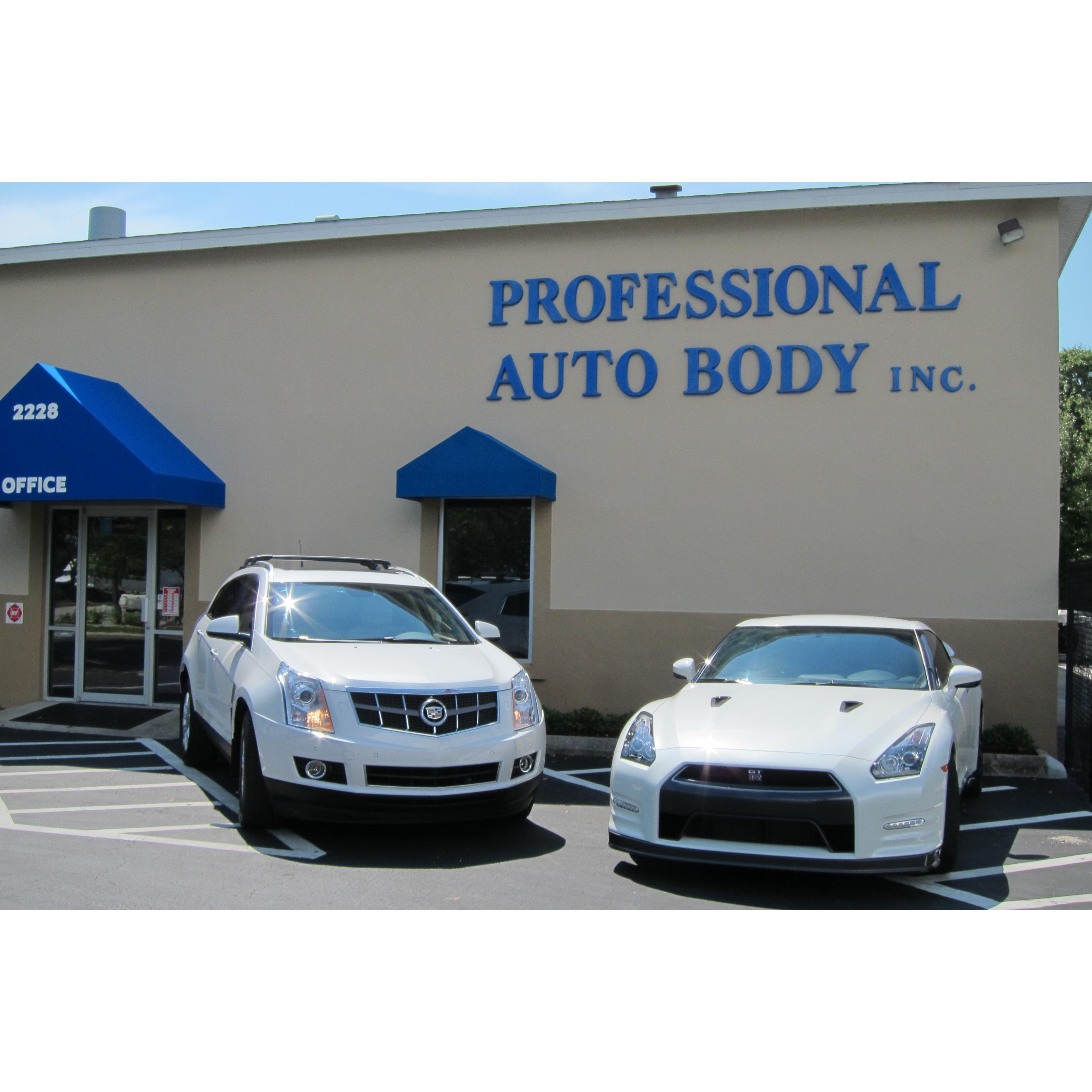 Professional Auto Body Inc.