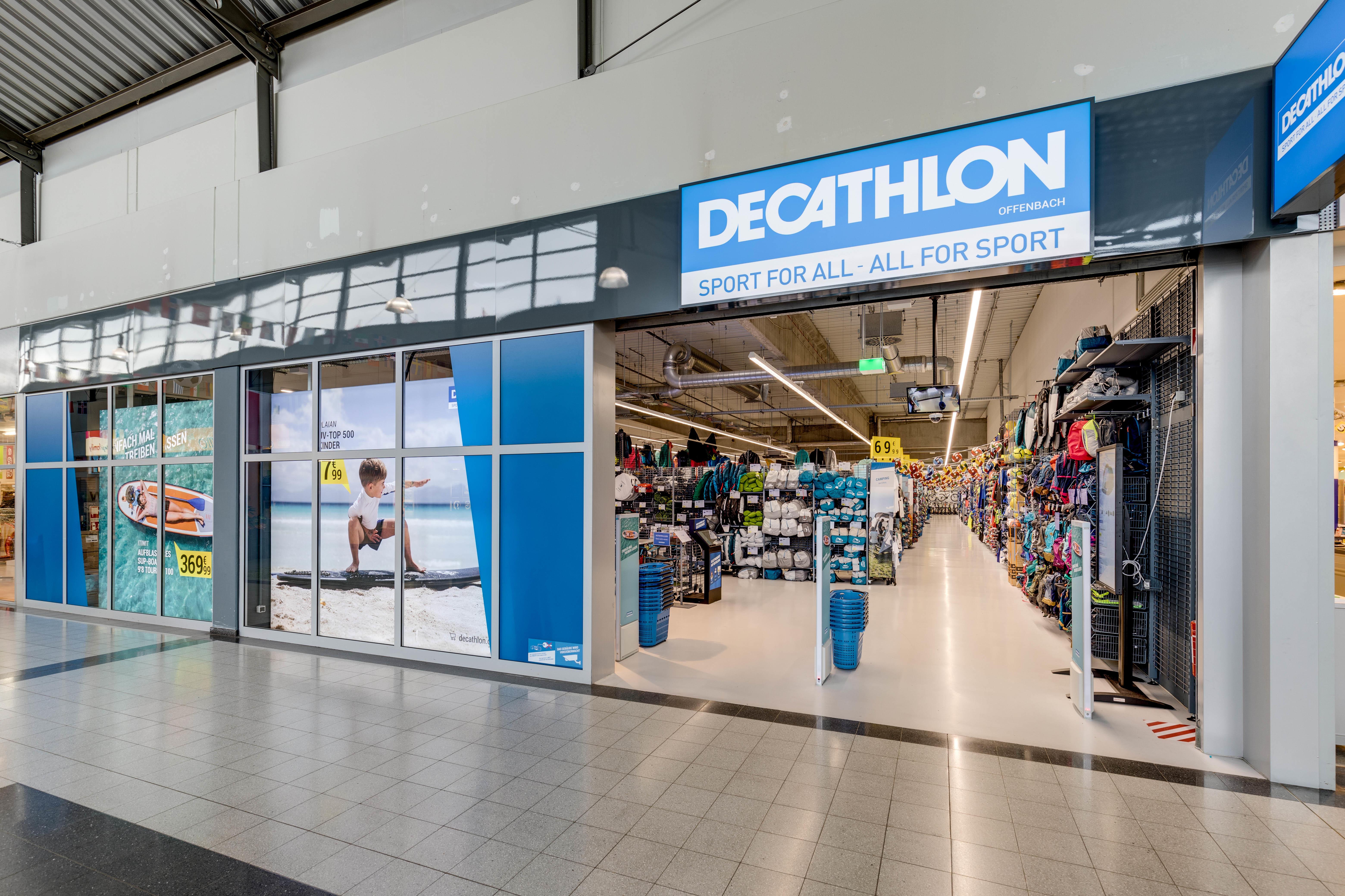 decathlon offenbach direkt im ring center offenbach am main 63069 yellowmap. Black Bedroom Furniture Sets. Home Design Ideas