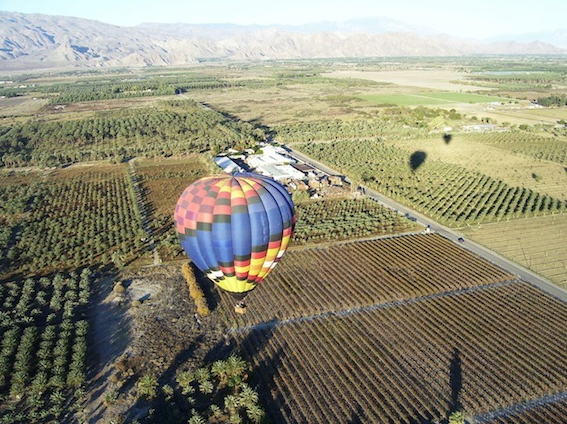 Balloon Above the Desert image 2