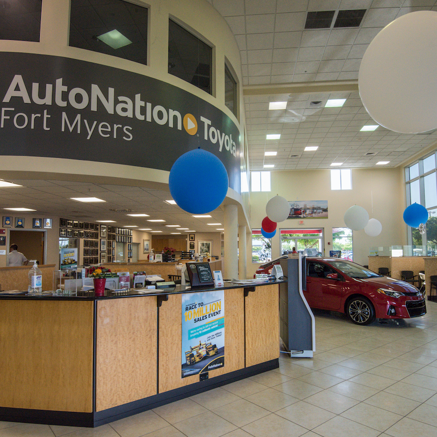 autonation toyota fort myers fort myers fl business page. Black Bedroom Furniture Sets. Home Design Ideas