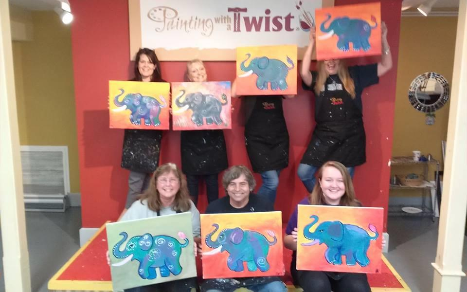 Painting with a twist coupons near me in st petersburg for Painting with a twist chicago