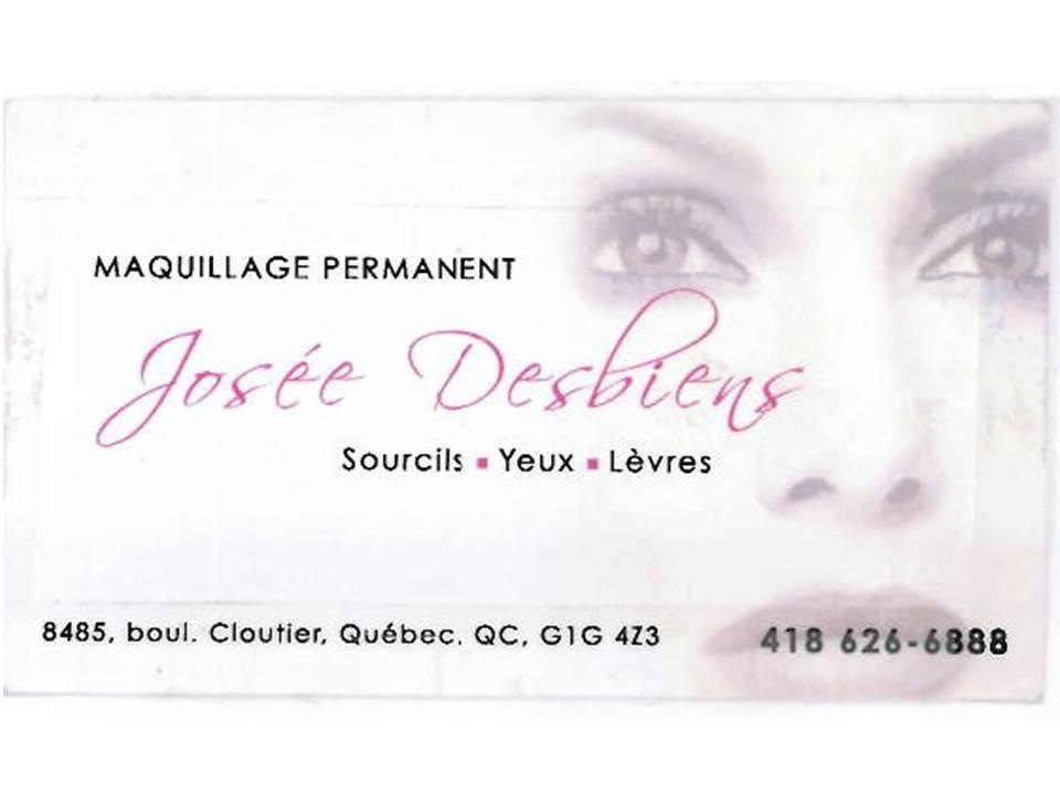 Maquillage Permanent Josée Desbiens à Québec