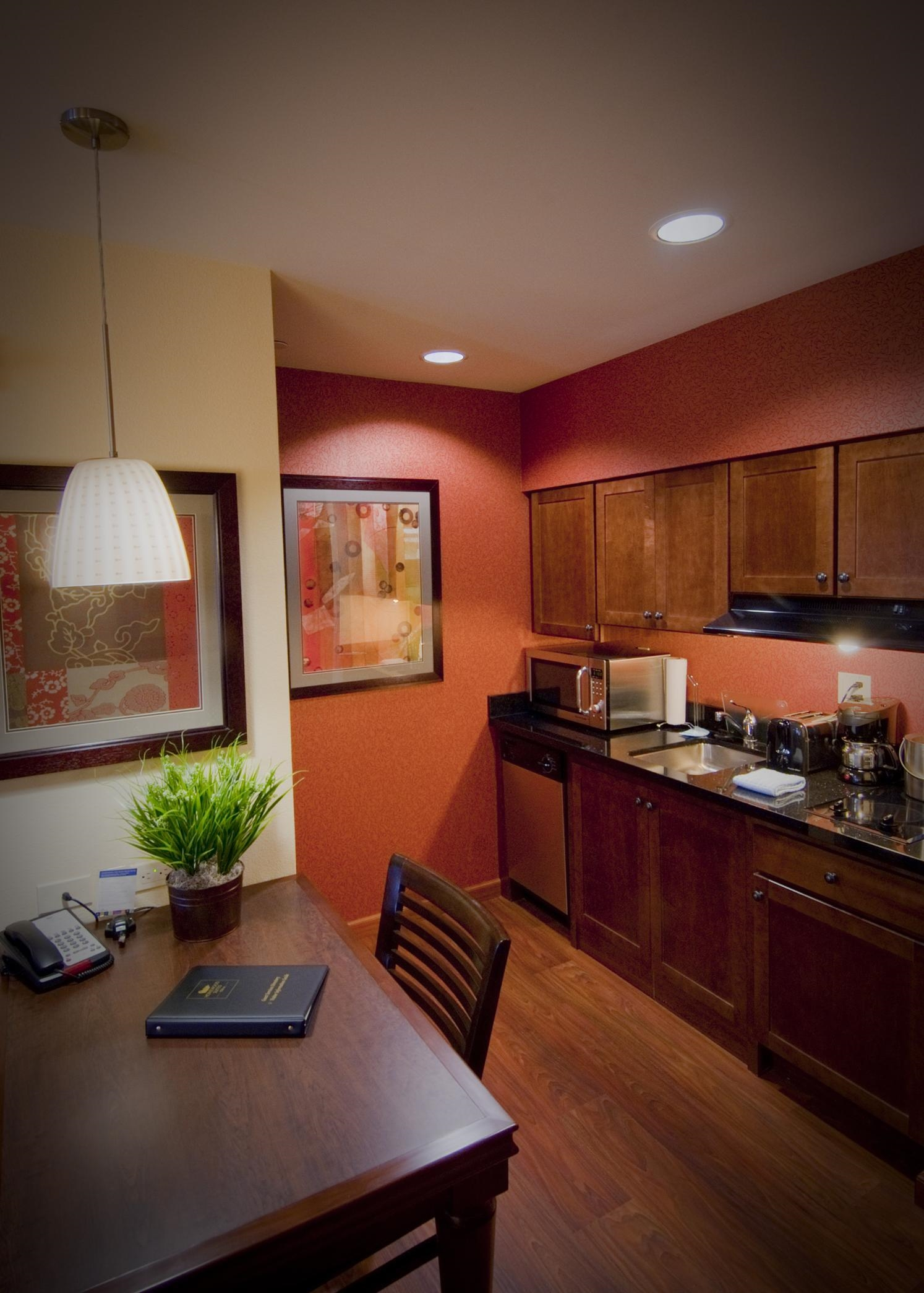 In-Suite Kitchen Area