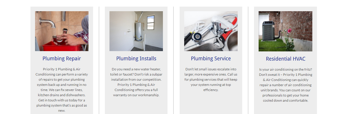 Priority 1 Plumbing & Air Conditioning image 3