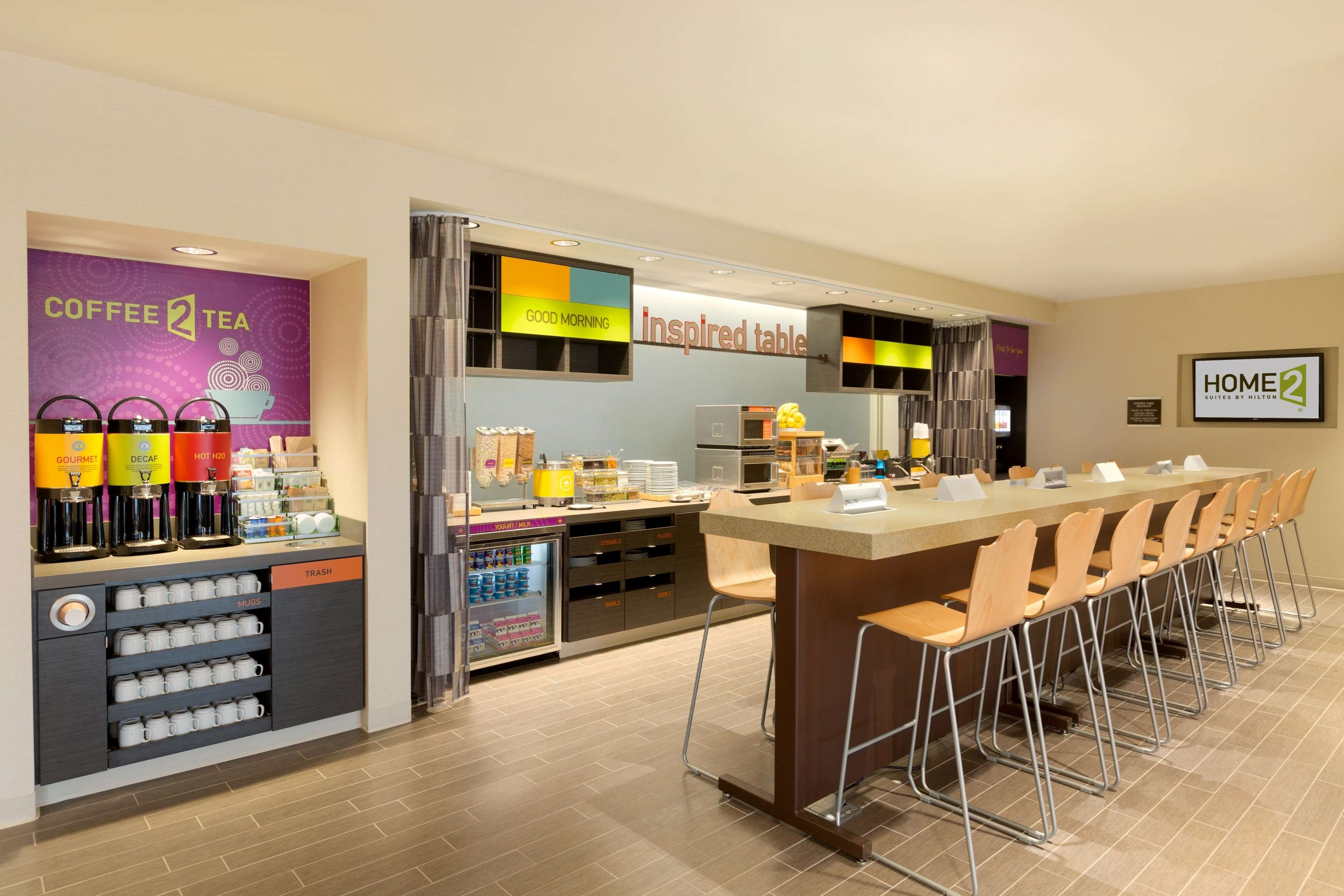 Home2 Suites by Hilton West Edmonton, Alberta, Canada in Edmonton: Inspired Table