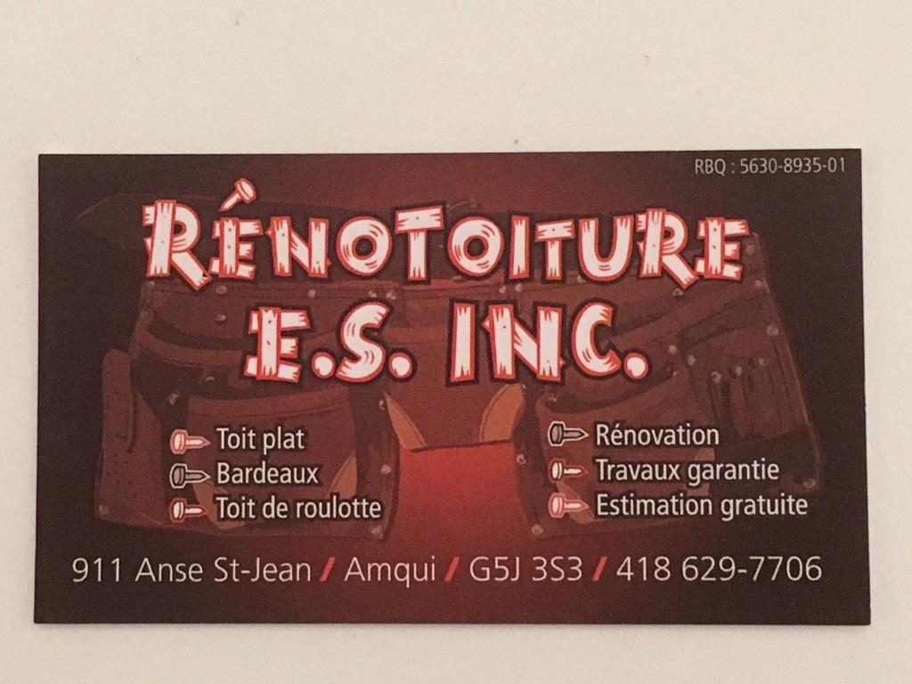 Rénotoiture E. S. Inc. in Amqui