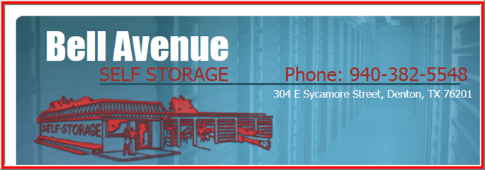 Bell Avenue Self Storage In Denton Tx 76201 Citysearch