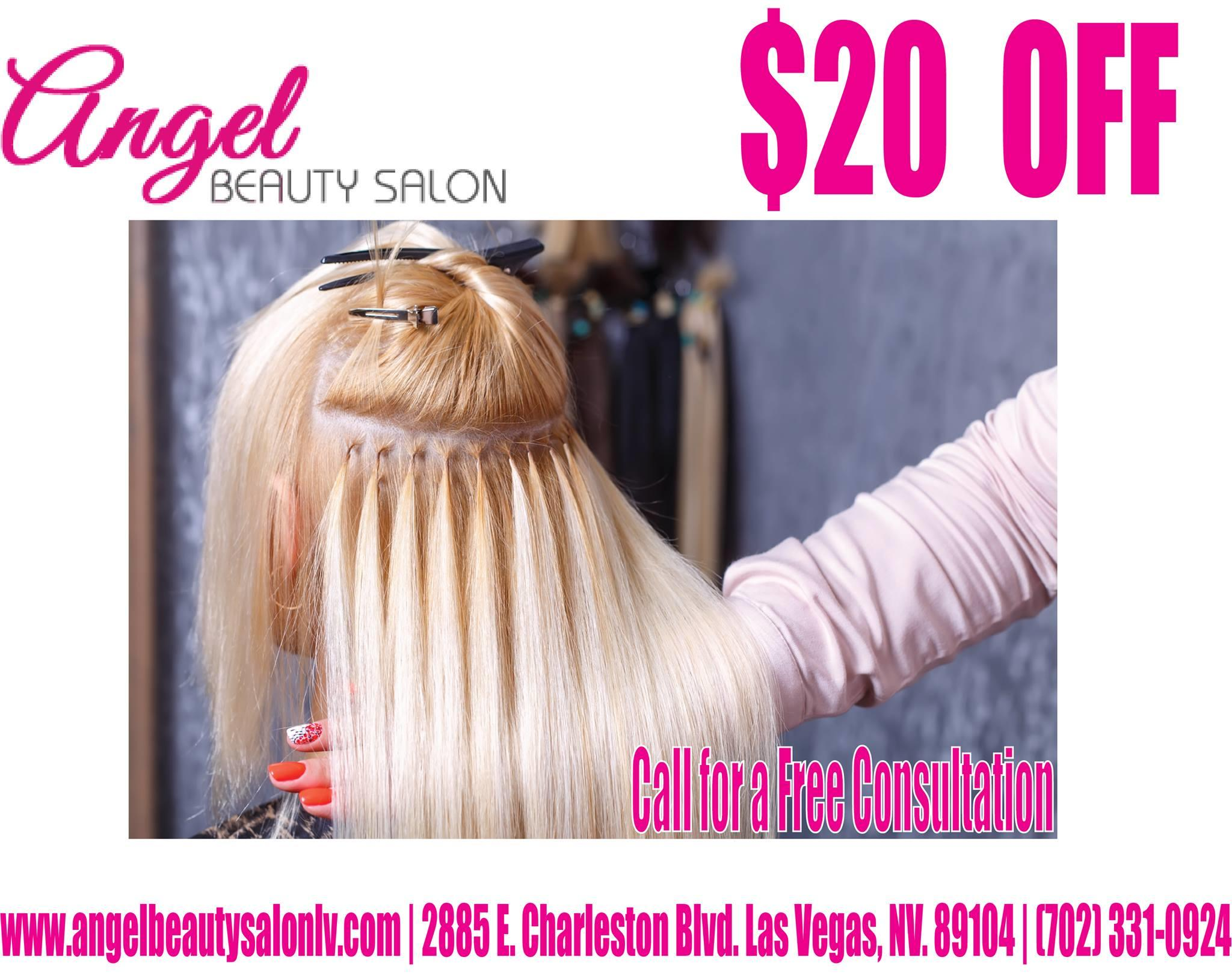beauty salon, discount with consultation