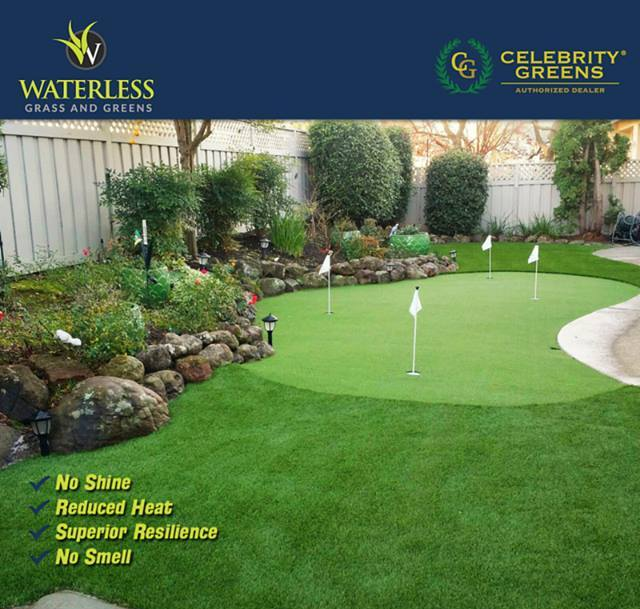 Waterless Grass and Greens image 7