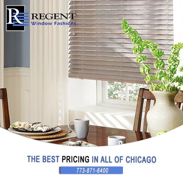 The best pricing on blinds, shades, shutters, drapes, and blind repair in all of Chicago, IL.