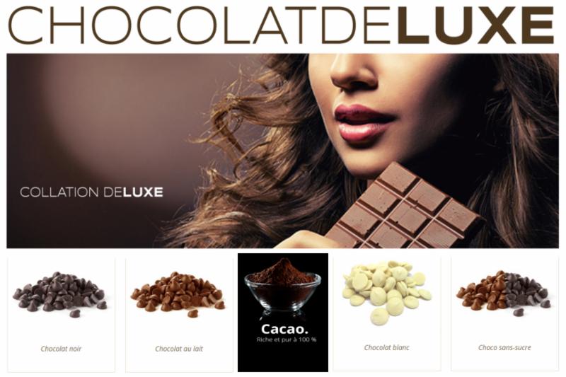 Chocolat De Luxe Inc
