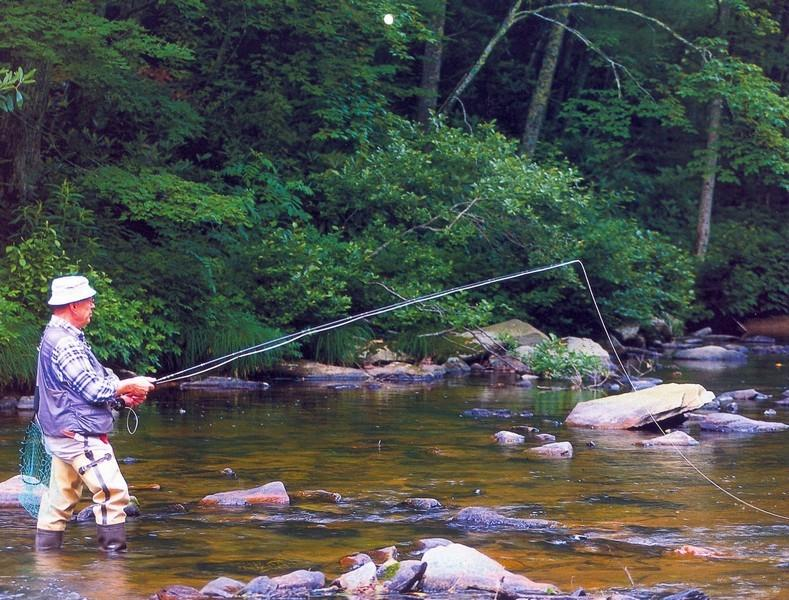The Linville River runs through Land Harbor into the lake and is stocked each year with beautiful trout.  Fly Fishing has become a very popular activity in the community!