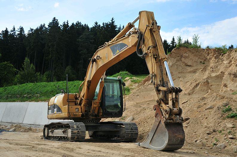 Gebrüder Pleil Baumaschinen-Vermietung, Erdarbeiten
