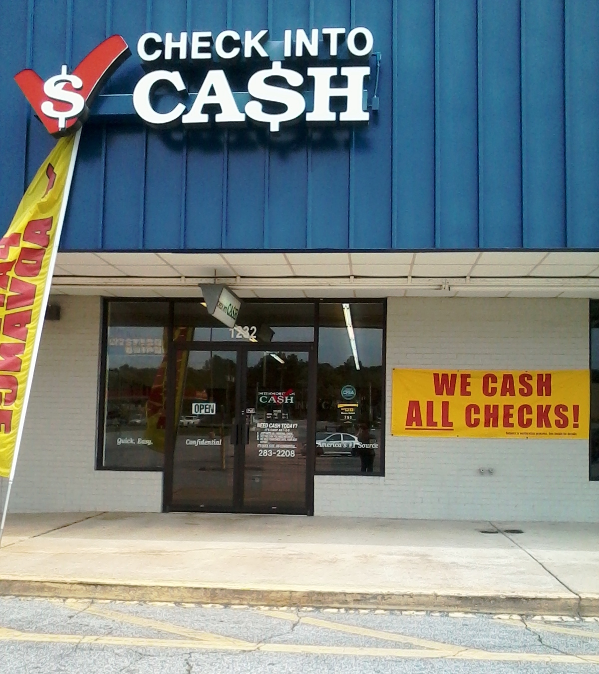 At Check Into Cash, we have made it easy and fast to get the cash you need, when you need it. Whether you are getting an online loan Opens in a new window or visiting one of hundreds of retail locations near you Opens in a new window, we offer a hassle free approach to borrowing.