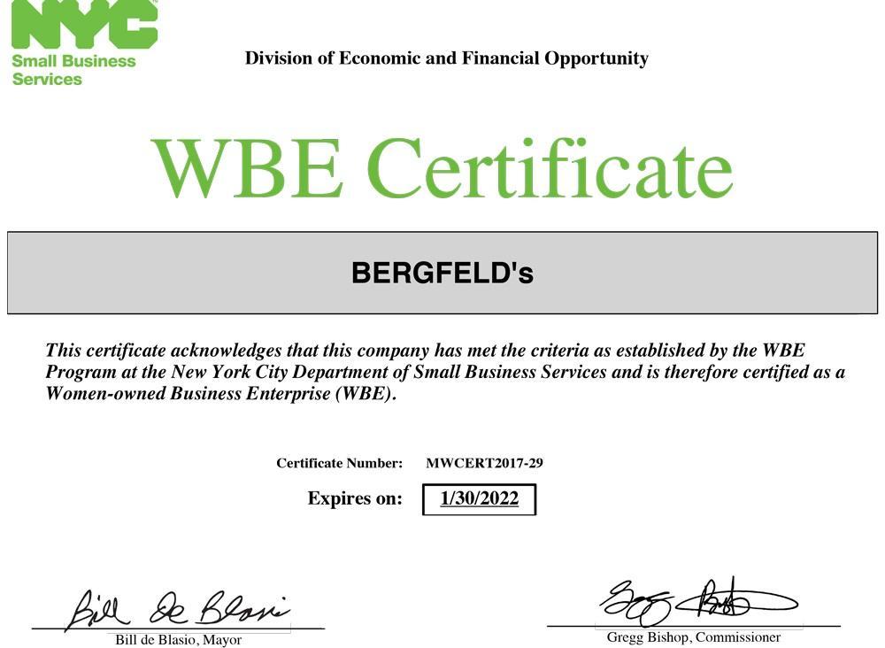 BERGFELD's Clearance Service