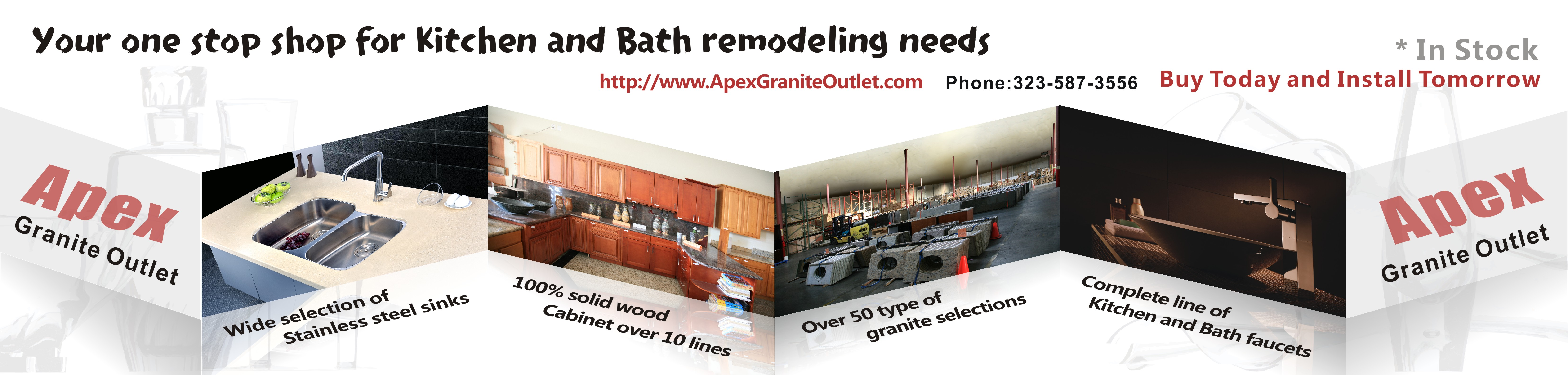 APEX Kitchen Cabinet and Granite Countertop image 12