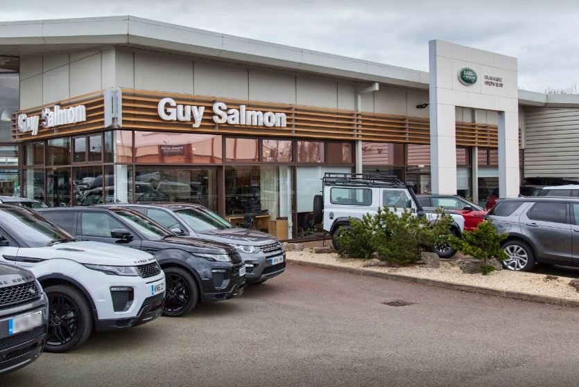 guy salmon land rover northampton car dealers new. Black Bedroom Furniture Sets. Home Design Ideas
