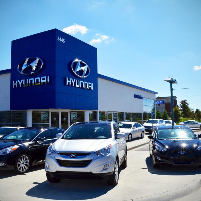 AutoNation Hyundai Mall of Georgia at 3445 Buford Drive ...