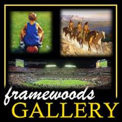 Framewoods Gallery - Lawrence, KS - Art & Antique Stores, Restoration