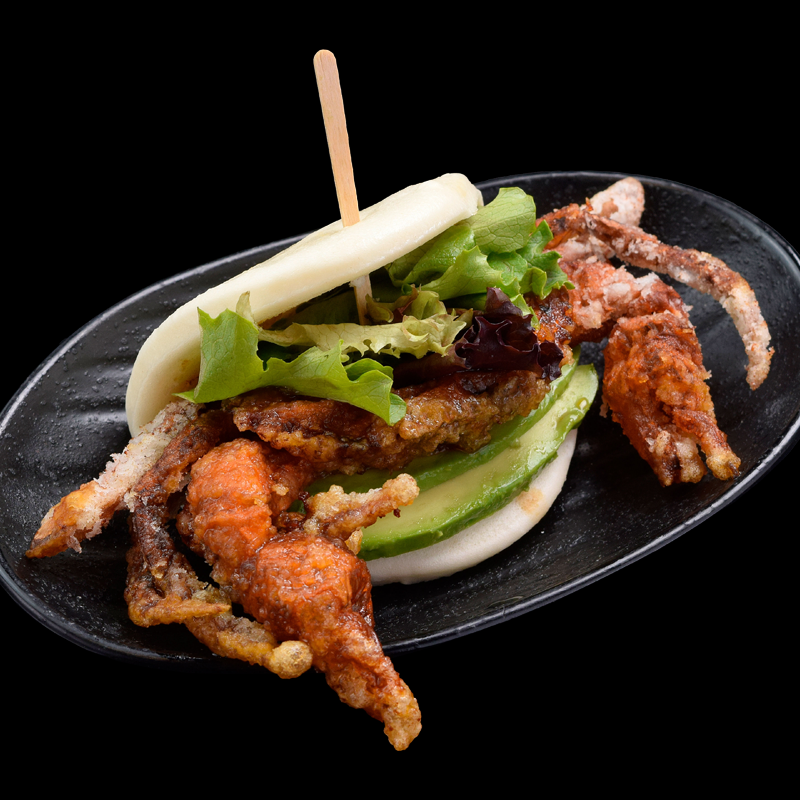 Click to expand image of Soft Shell Crab Bun