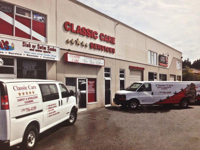 Classic Care Carpet & Upholstery Cleaning Ltd in Nanaimo