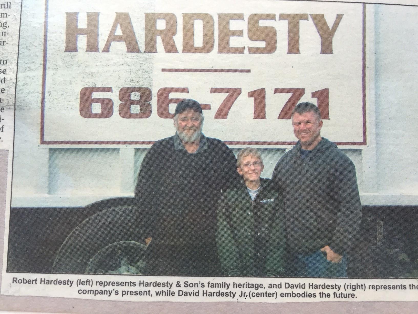 Hardesty And Son's Sanitation Inc image 1