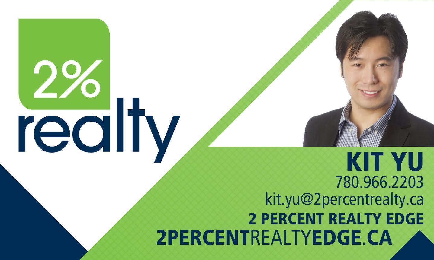 Kit Yu - Realtor - 2% Realty Edge