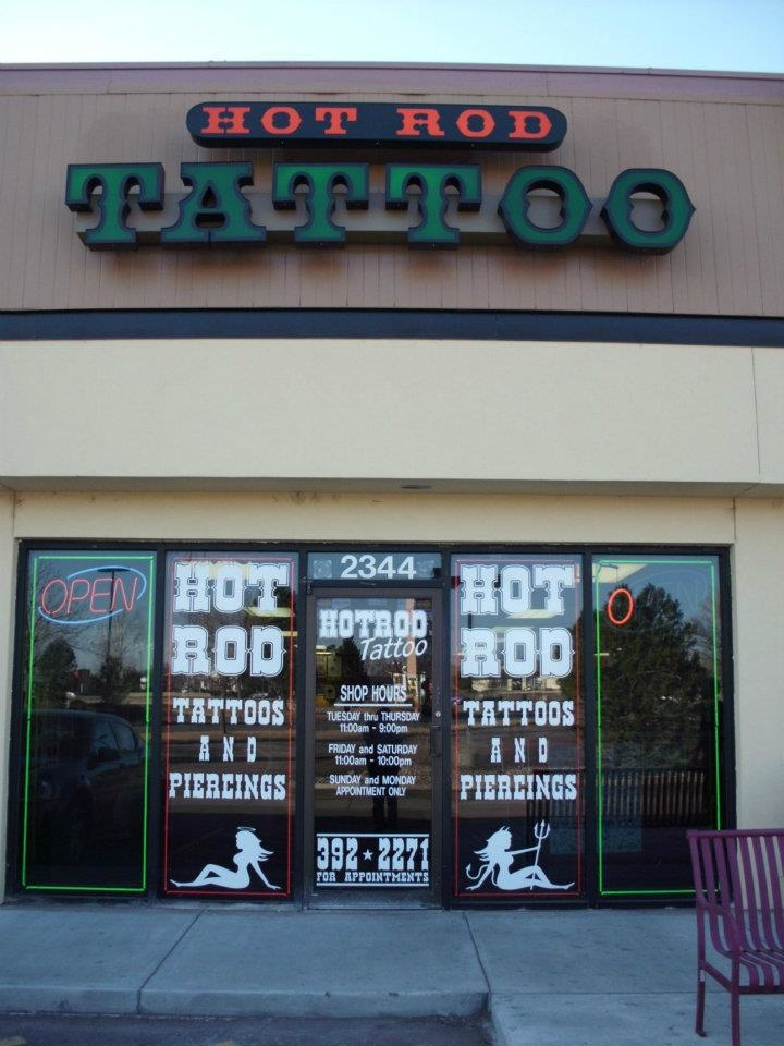 Hot rod tattoo colorado springs co company profile for Tattoo shops in colorado springs