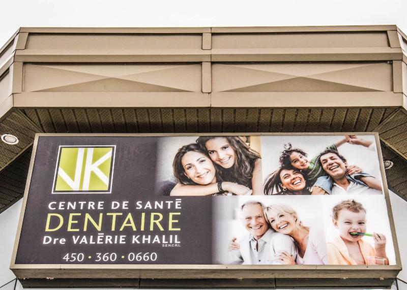 Centre de Santé et d'Esthétique Dentaire Dre Valerie Khalil à Granby