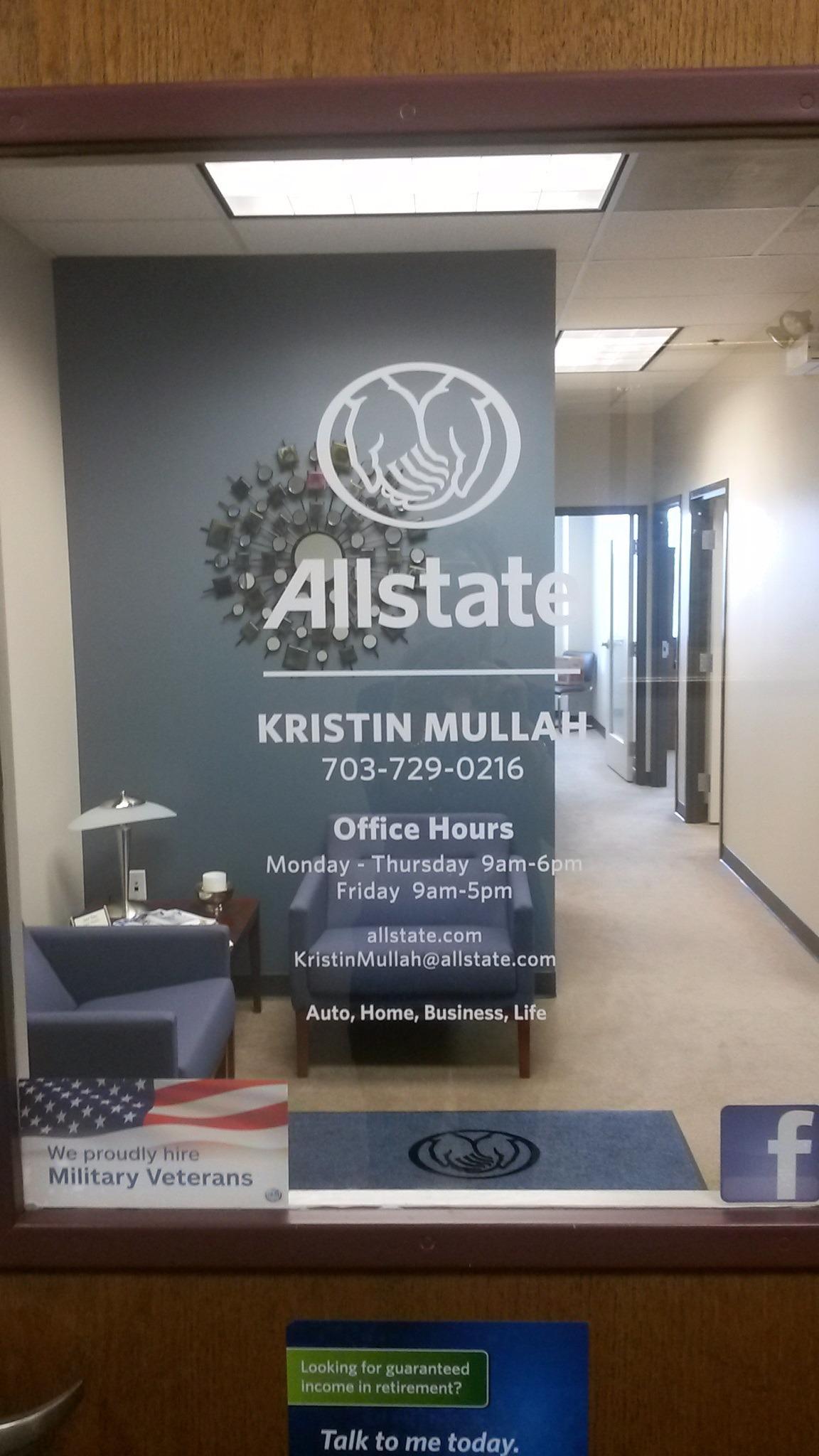 Kristin Mullah: Allstate Insurance
