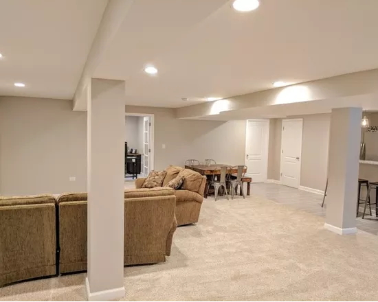 Basements remodels are one of our specialties! Contact our remodeling company today to learn more!