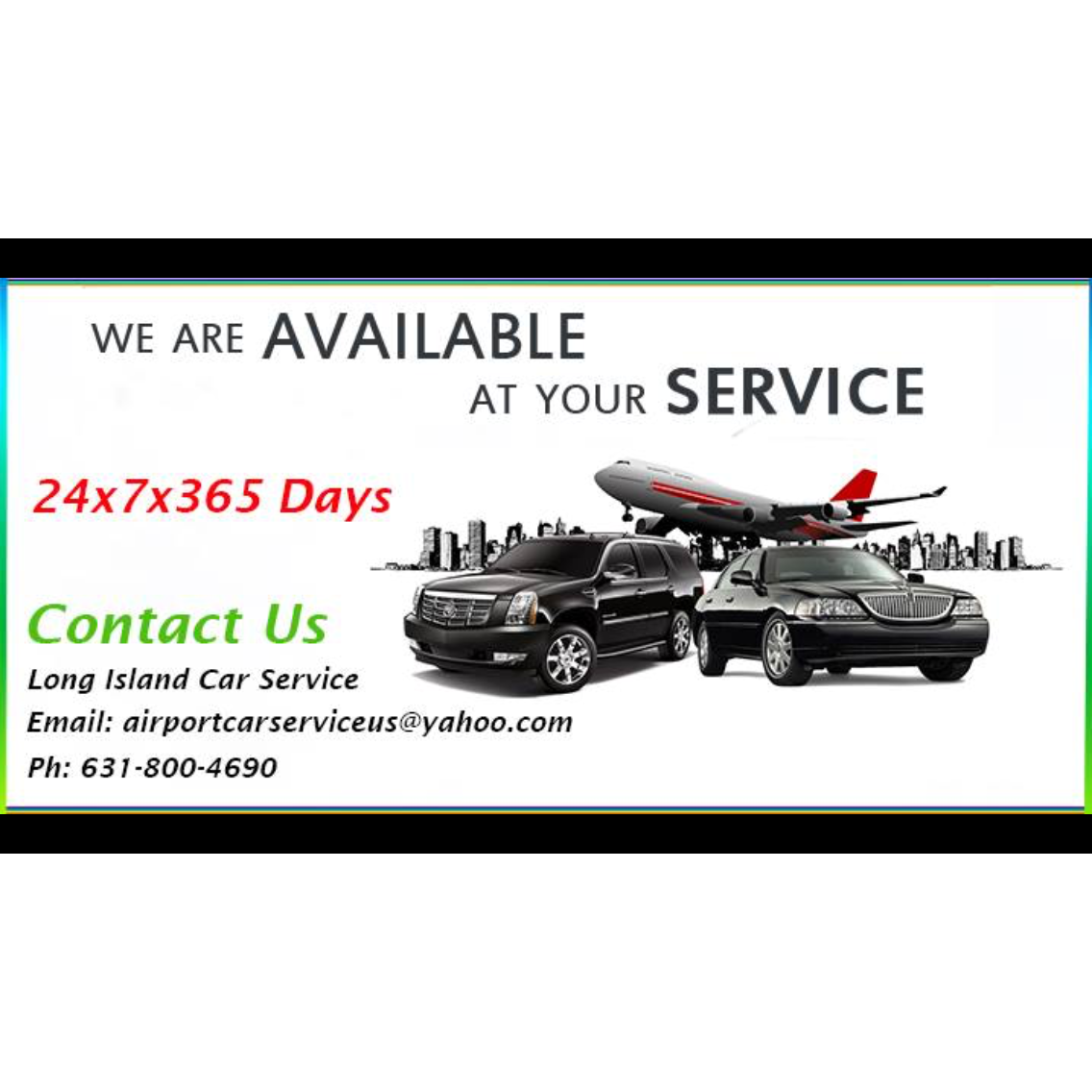 Limo service coupons