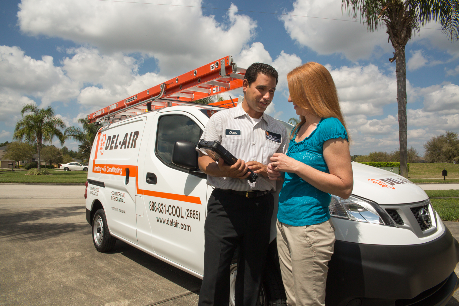Air conditioning unit service: Del air kissimmee