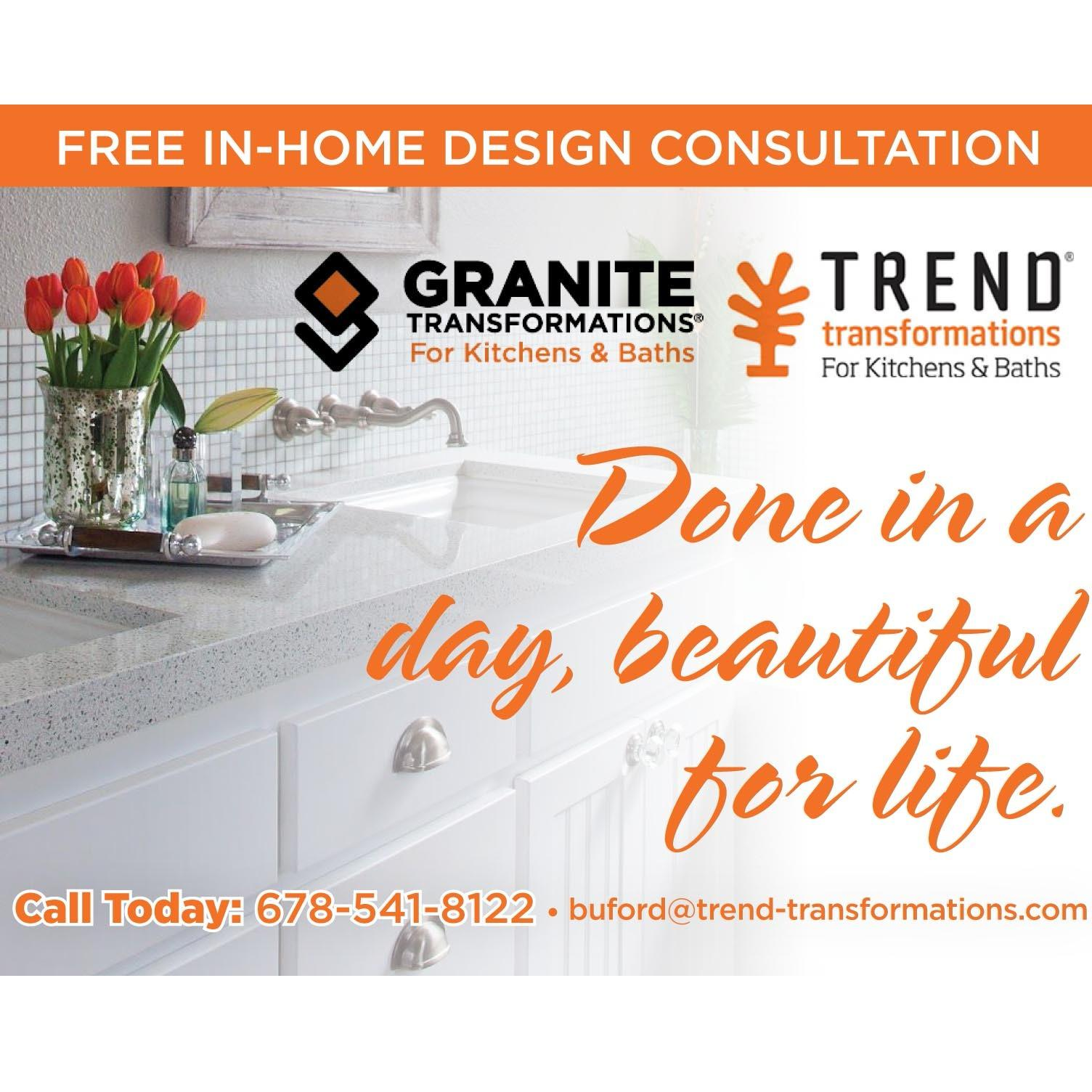 Granite and Trend Transformations of Buford