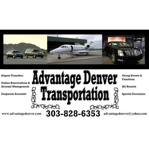 Airport Shuttle Service in CO Denver 80241 Advantage Transportation 3688 E. 134th. Dr.  (303)828-6353