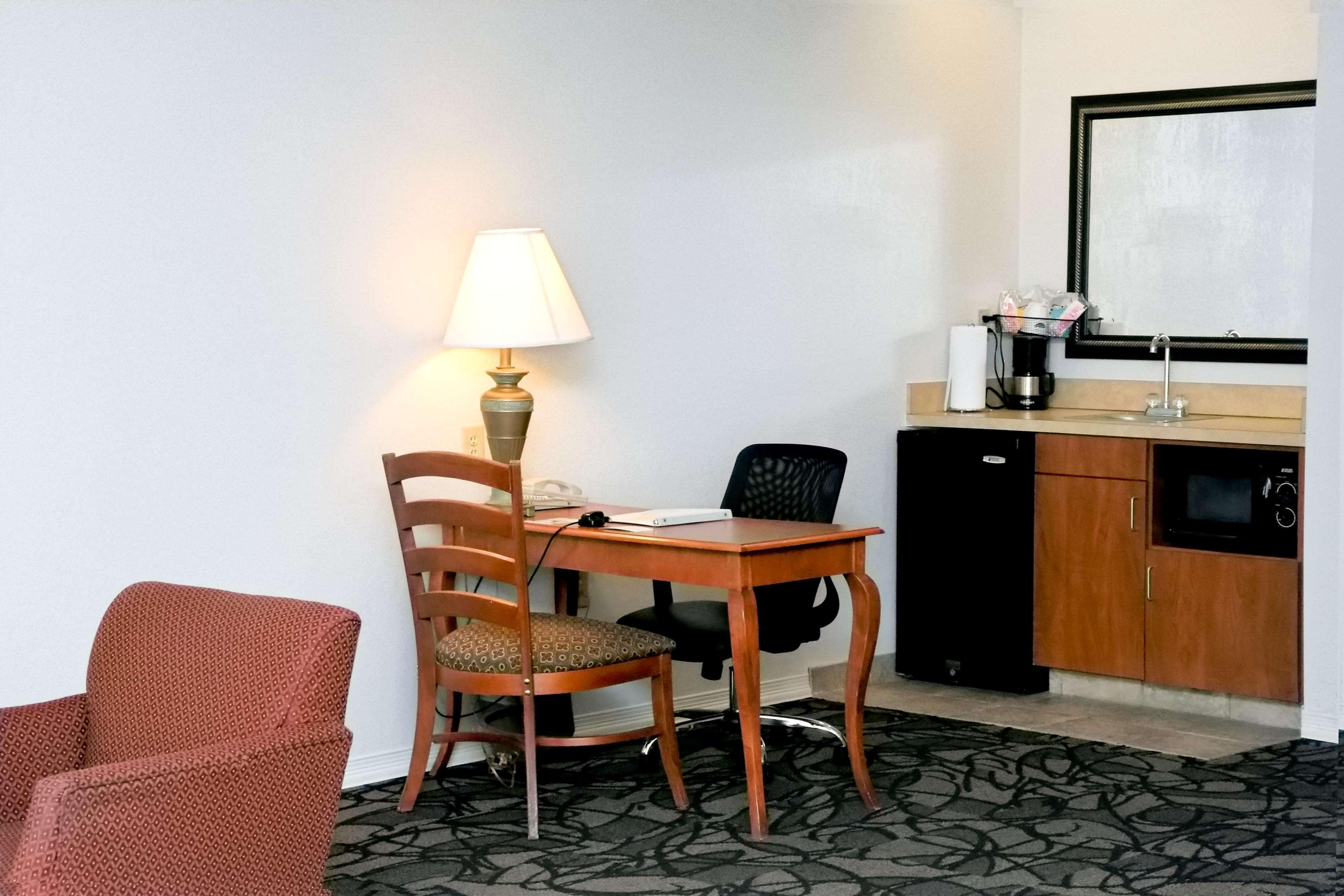 Two Queen Studio Suite Living Area