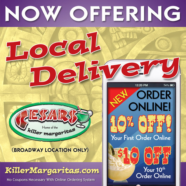 Cesar's Killer Margaritas - Broadway - ad image