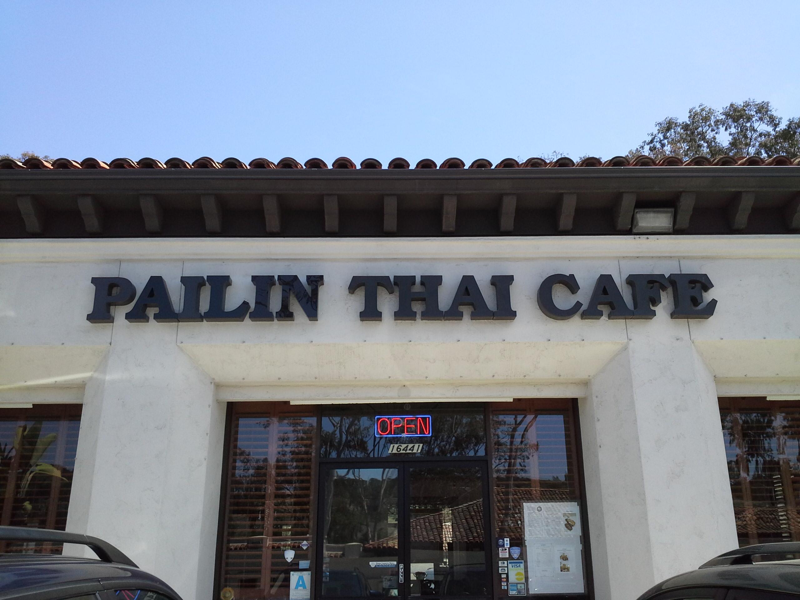 Pailin Thai Cafe San Diego Ca