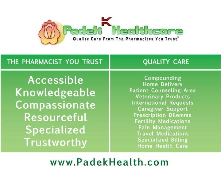 PADEK HEALTHCARE PHARMACY image 2
