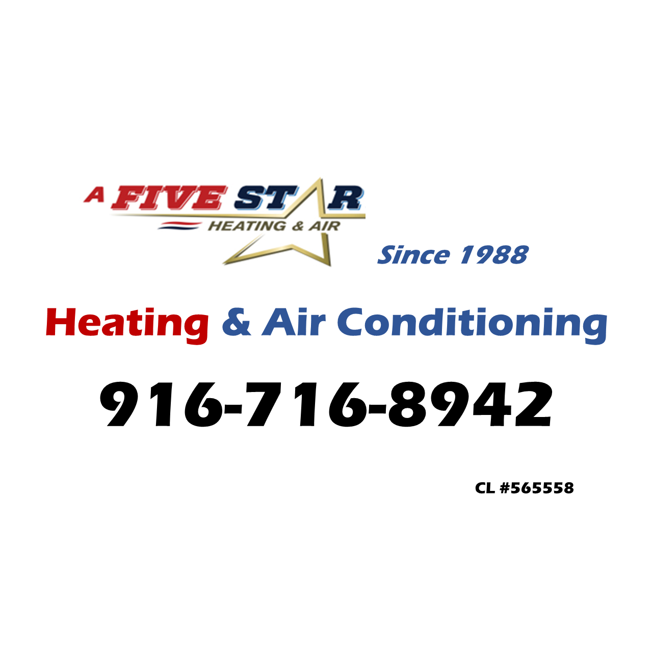 A Five Star Co. Heating & Cooling