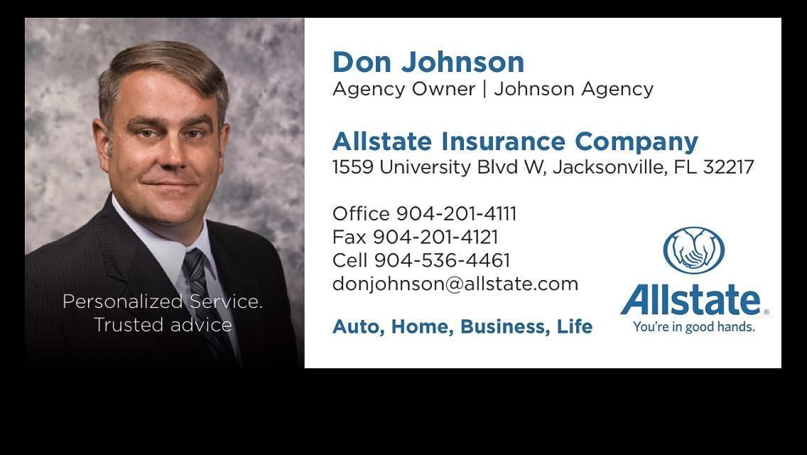 Don Johnson: Allstate Insurance image 2