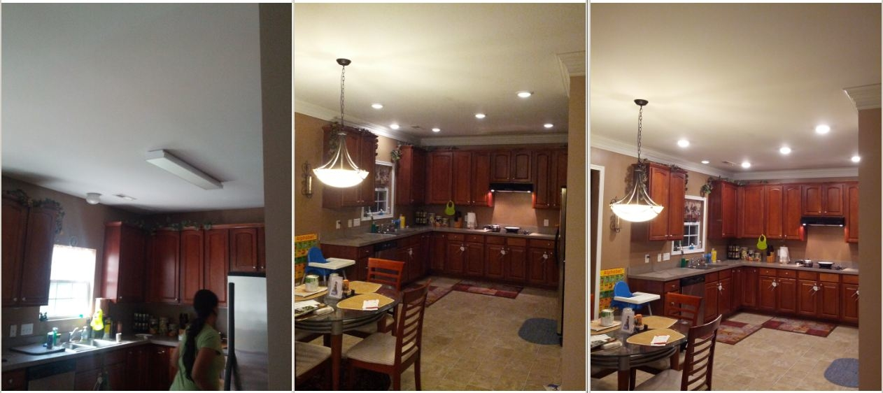 Before (left) / After Dimmed (middle) / Atfer Bright (right)