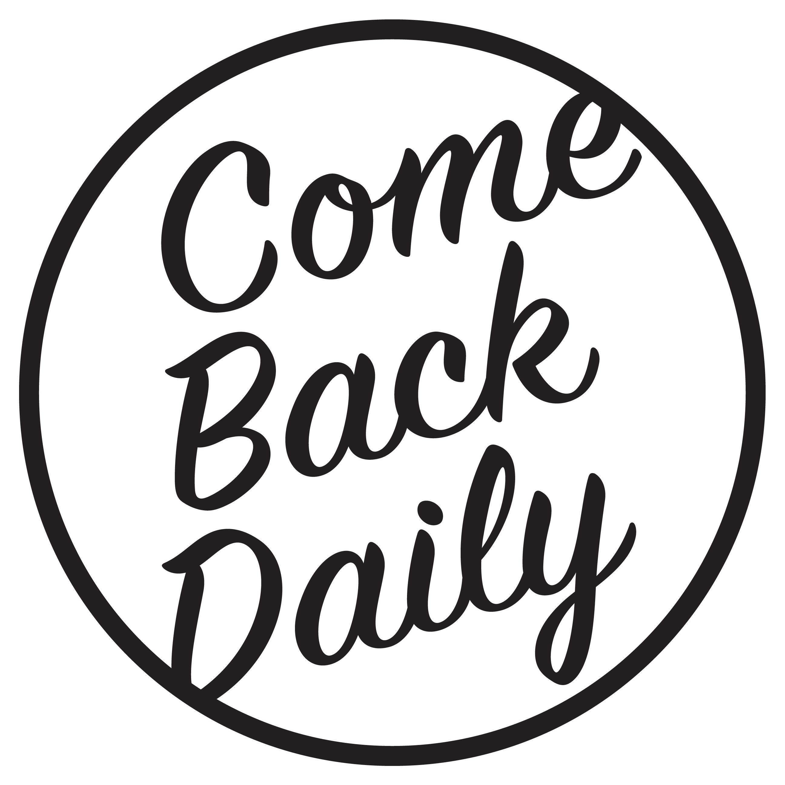 Come Back Daily CBD image 2