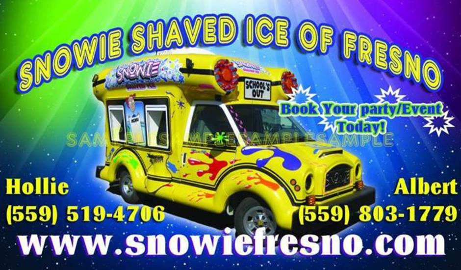 SNOWIE SHAVED OF ICE FRESNO image 0