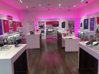 Interior photo of T-Mobile Store at Providence Place 3, Providence, RI