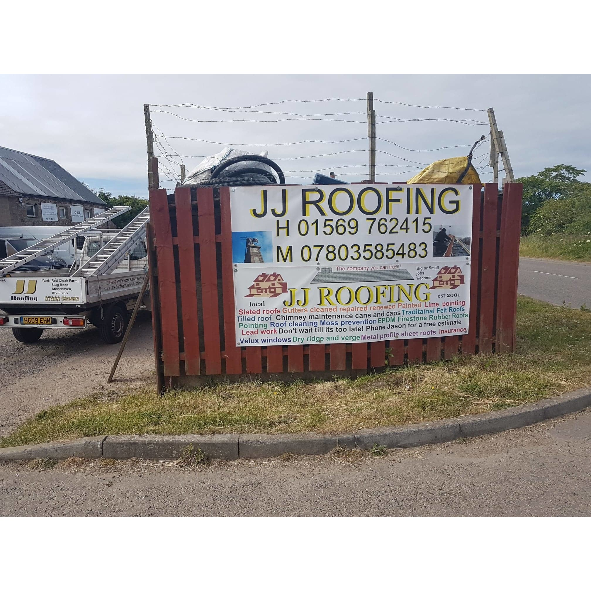 Jj Roofing Roofing Contracting Services In Stonehaven