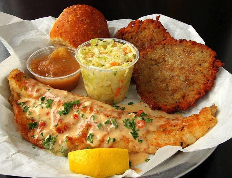 Rochester deli waukesha wi business information for Fish fry waukesha