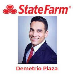 Demetrio Plaza - State Farm Insurance Agent